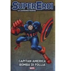 Supereroi Le Leggende Marvel 034 - Capitan America Bomba Di Follia