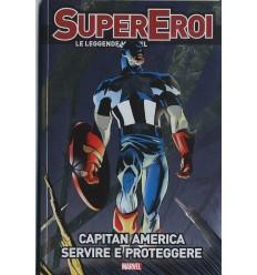 Supereroi Le Leggende Marvel 046 - Capitan America Servire E Proteggere