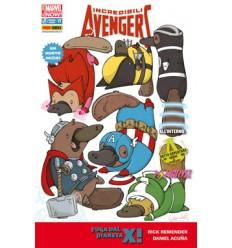 Incredibili Avengers 017 Variant